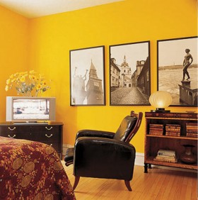 yellow interior design, yellow design