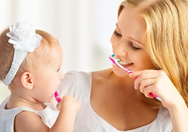 Održavanje oralne higijene mliječnih zuba
