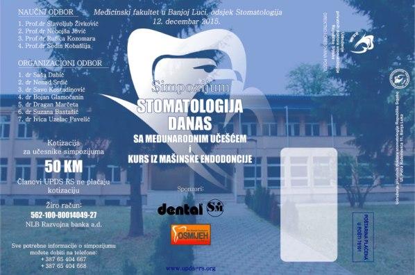 """Simpozijum """"Stomatologija danas"""" sa međunarodnim učešćem i kurs mašinske endodoncije"""