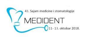 43. MEDIDENT – Međunarodni sajam medicine i stomatologije
