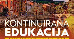 Kontinuirana edukacija – Hotel Hills Sarajevo, 05.10.2019.