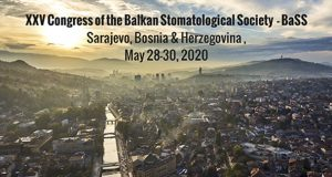 XXV Congress of the Balkan Stomatological Society – BaSS – Sarajevo, 28. – 30. maj 2020.