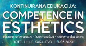 Kontinuirana edukacija: Competence in Esthetics – Sarajevo, 14. mart