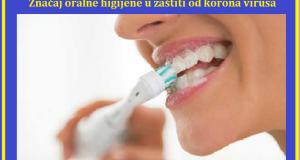 Značaj oralne higijene u zaštiti od korona virusa