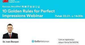 """Webinar """"10 zlatnih pravila za savršene otiske"""""""
