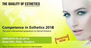 Competence in Esthetics 2018 – Sarajevo, 3. mart