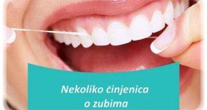 Nekoliko činjenica o zubima